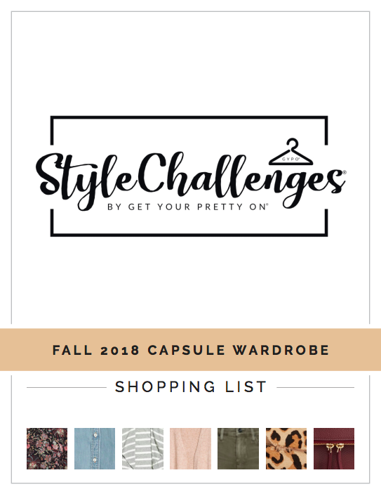 Style Challenges Fall 2018 Capsule Wardrobe